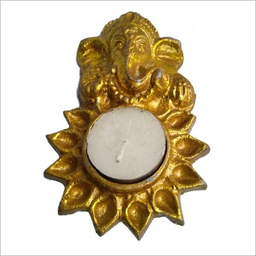 Brass Ganesh Statue Diya