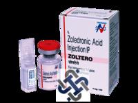 Zoltero Zoledronic acid 4mg Injection