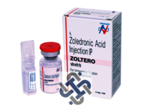 Zoltero Zoledronic acid 4mg Injection