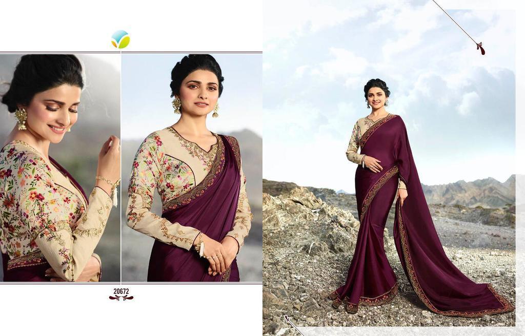 Latest Designer Silk Sarees