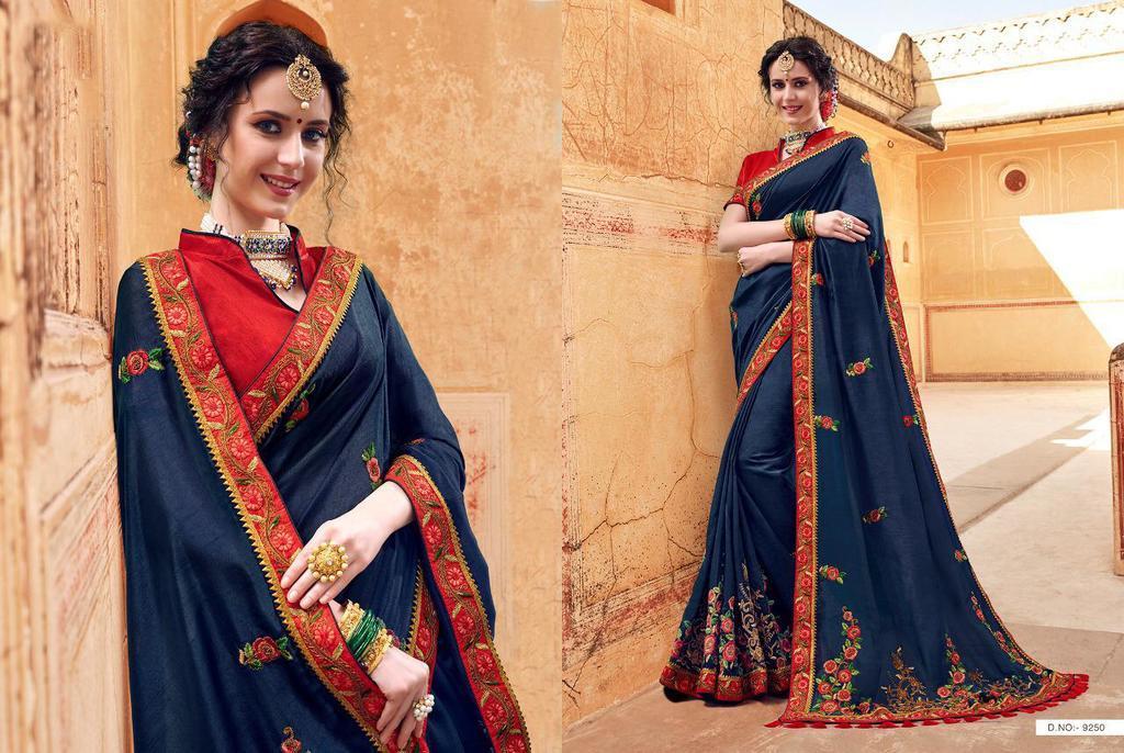 Hitansh Beautiful Designer Sarees