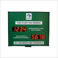 LED Incident Accident Display