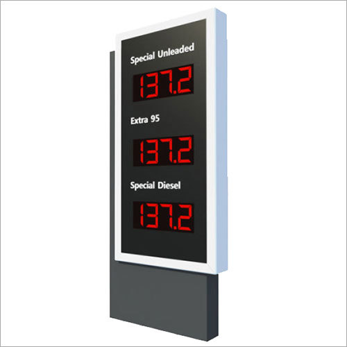 Rate display unit
