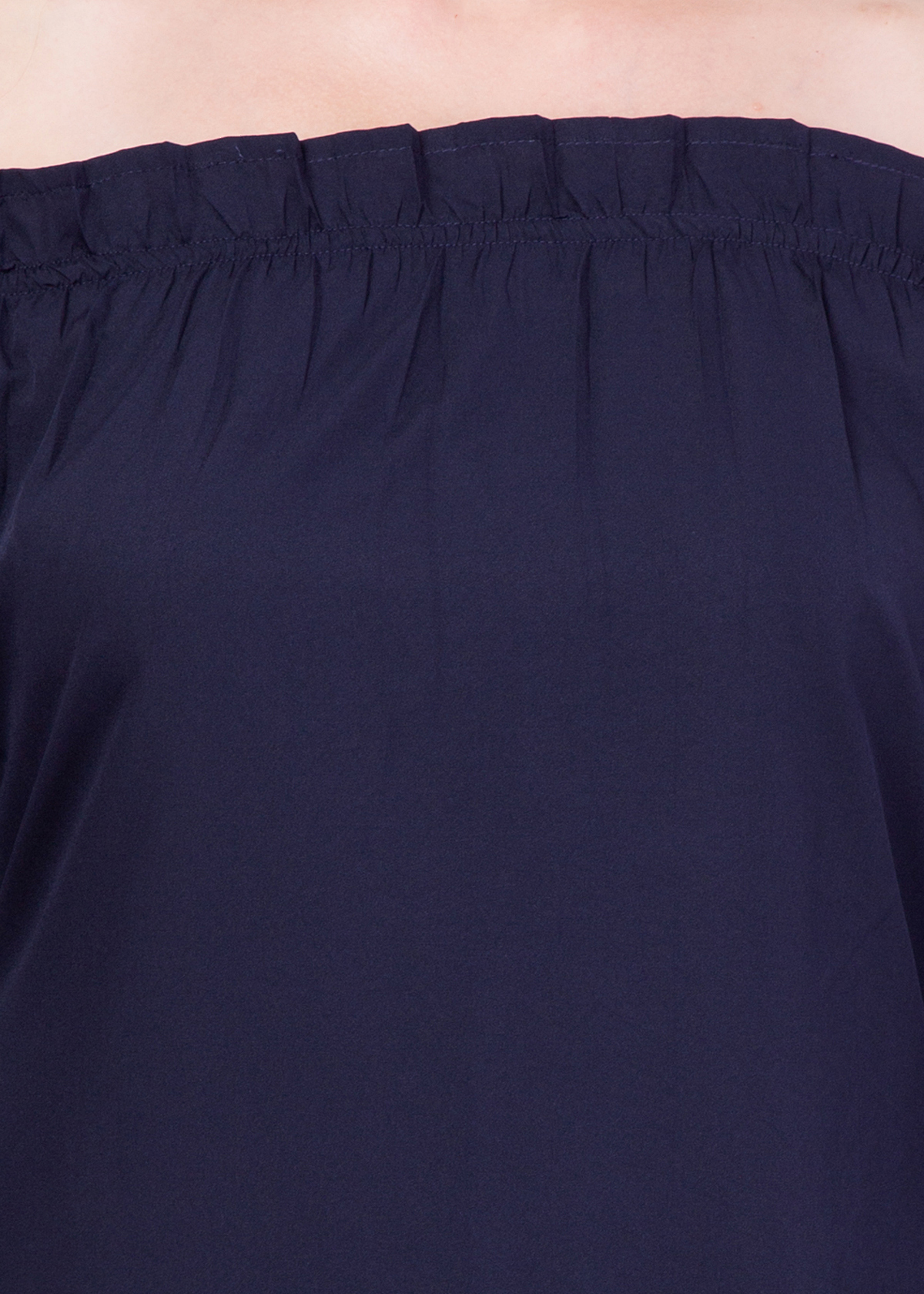 Ladies Plain Navy Dress