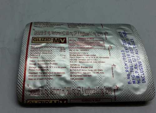 giclazide metformin hcl tablets