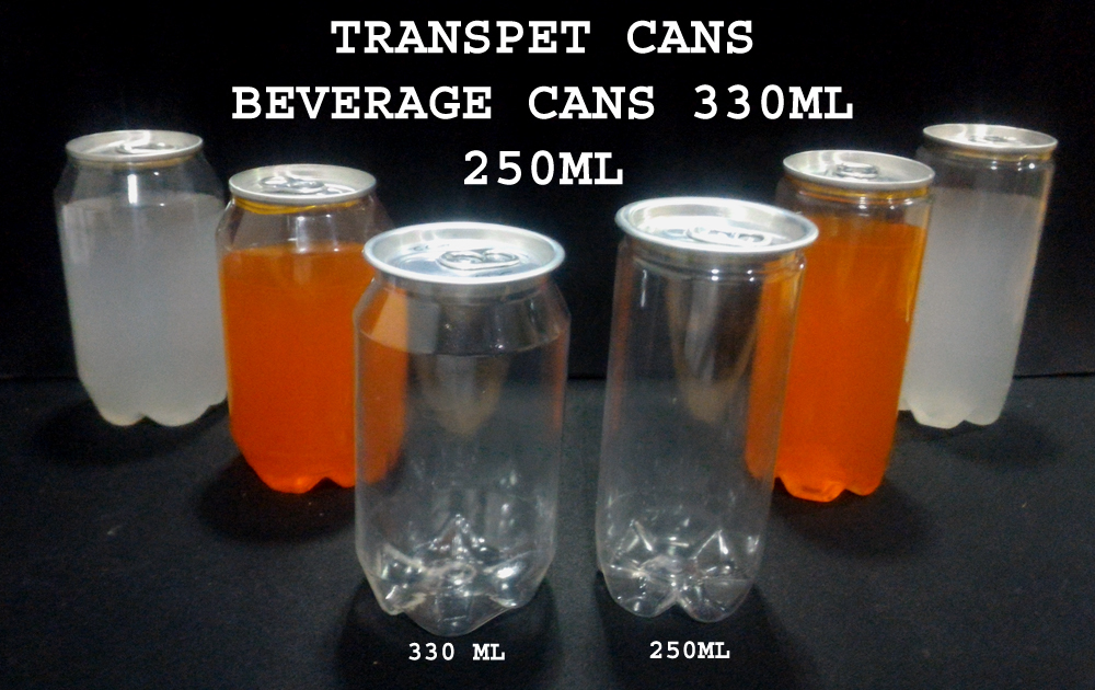 Pet Can for Beverages