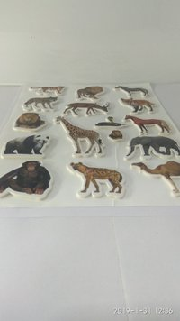 Craft Villa Glare Animals Print Sticker