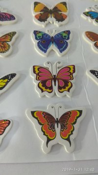 Craft Villa Glare Butterfly Print Sticker