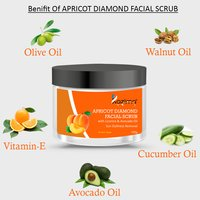 KAZIMA Apricot Diamond Facial Scrub