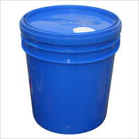 Laminated Lubricant Plain Plastic Bucket