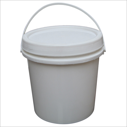 Plastic White Grease Bucket