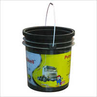 Printed Lubricant Plastic Buckets
