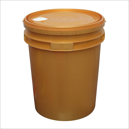 Golden Lubricant Plastic Buckets
