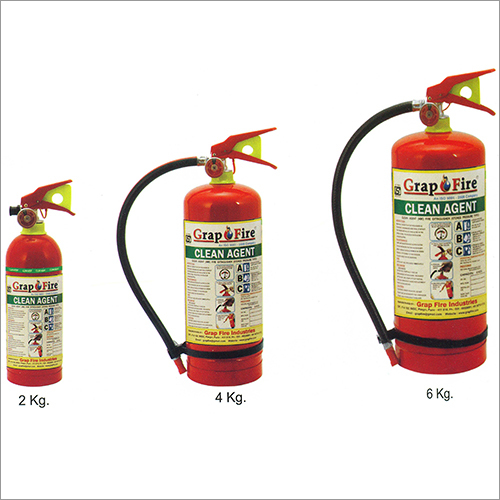 Clean Fire Extinguishers