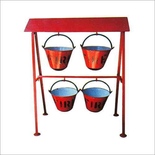 Fire Buckets With Stand