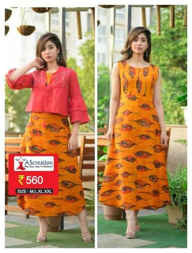 Ladies Cotton Slub Kurti