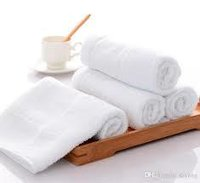 White Hotel Bath Towel