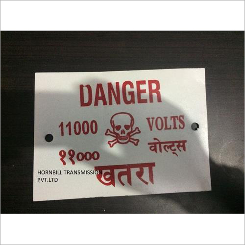 Danger Board - Manufacturer,Supplier,Uttar Pradesh