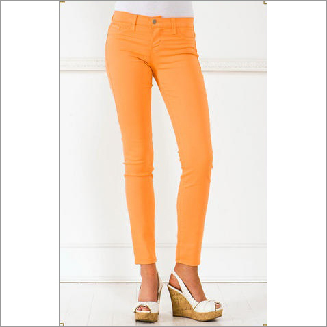 Ladies Coloured  Jeans
