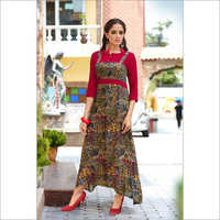 Long Full Sleeves Kurti
