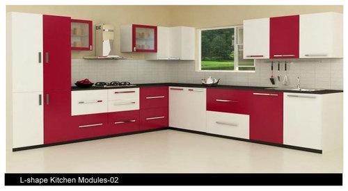 Laminate modular kitchen