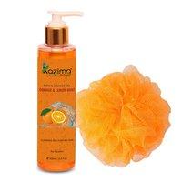 KAZIMA Orange & Lemon Mint Bath Shower Gel