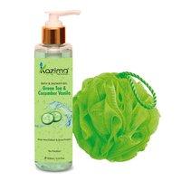 KAZIMA Green Tea & Cucumber Vanilla Bath Shower Gel