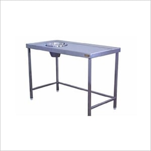 SS Mopping Sink Table
