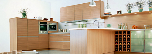 Action Tesa UV Finish Modular Kitchen