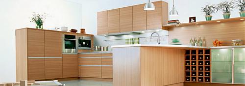 Action Tesa UV Finish Modular Kitchen