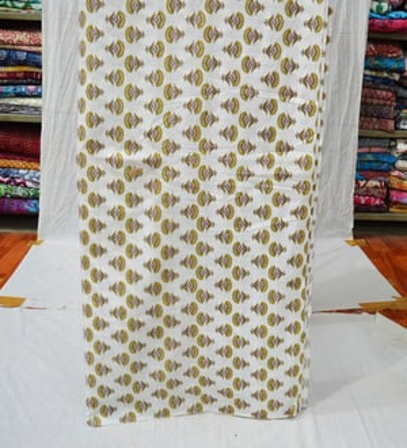 Flower & Floral Pattern 100% Cotton Handmade Fabric