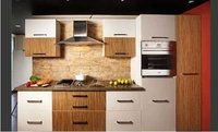 German Matt Acrylic Modular Kitchen