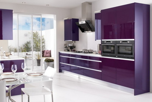 PU Paint HI-Gloss Modular Kitchen
