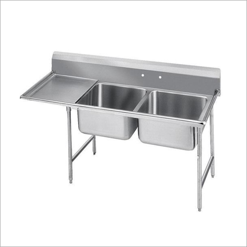 Ss Two Sink Unit