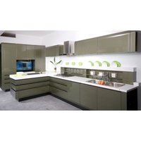 PU Matt Modular Kitchen