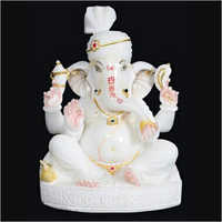 White Marble Lord Ganesh