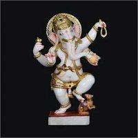 Marble Dancing Ganesha