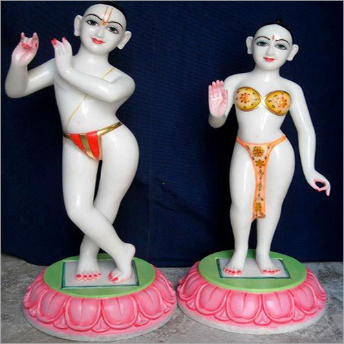 Marble Iskon Radhe Krishna