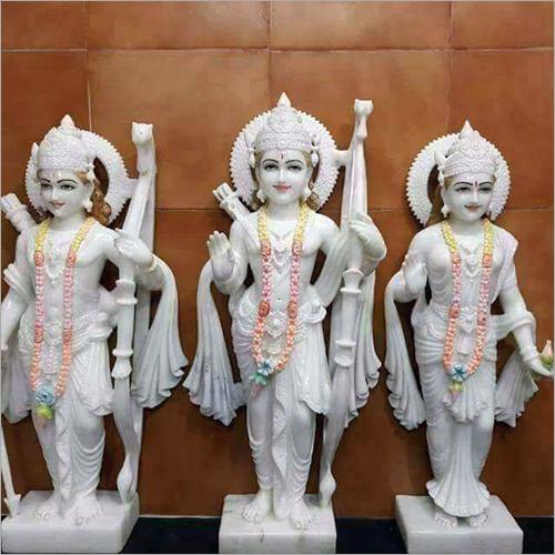 White Marble Ram Jodi
