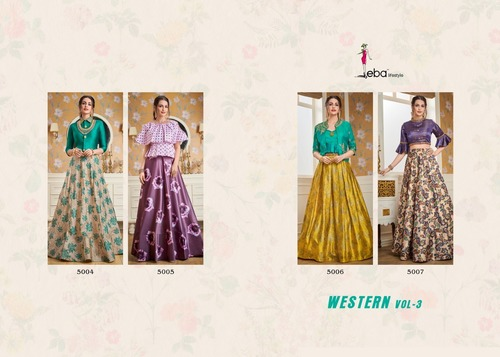 PARTY WEAR INDO WESTERN DRESSES