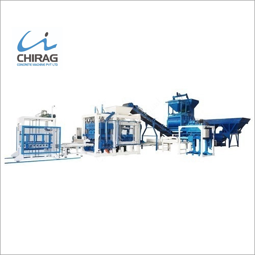 Fully Automatic Cement Brick Making Machine