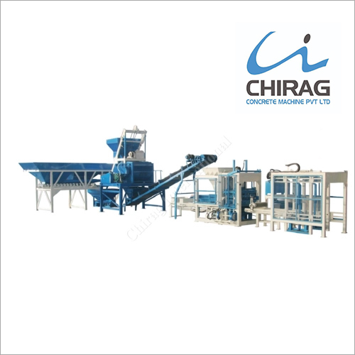 Fully Automatic Hydraulic Paver Block Making Machine