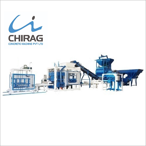 Automatic Hydraulic Concrete Block Making Machine