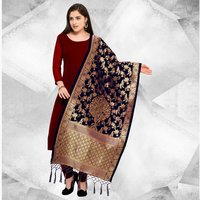 Fancy Banarasi Silk Dupatta