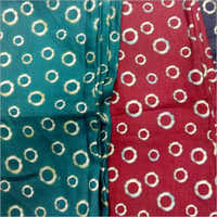 Printed Cotton Shirting Fabric