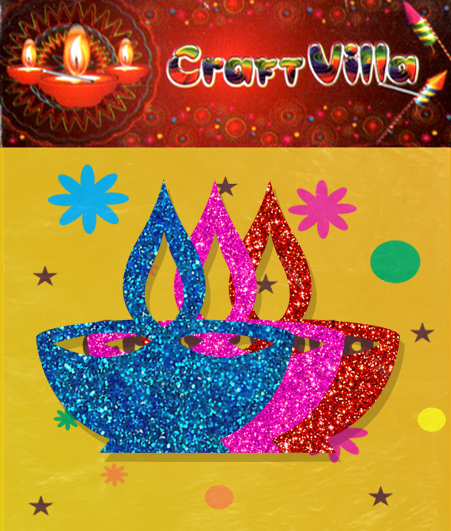 Diwali Card Sticker
