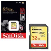 SanDisk Extreme 32GB SD Memory Card