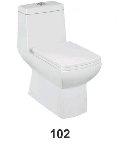 One Piece Toilet Square