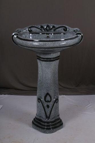 Pedestal Wash Basin Set