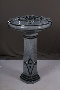 Pedestal Wash Basin Set